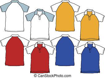 Junge Polo-Shirt-Sportuniform