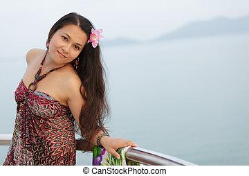 Junge Thai-Frau