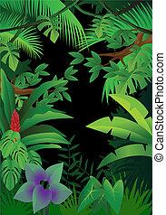 Jungle Hintergrund.