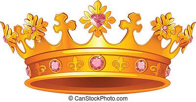 Königliche Krone.