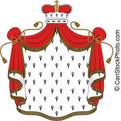 Königlicher Mantel