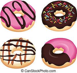 Köstliche Donuts.