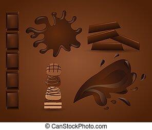 Köstliche Schokolade.