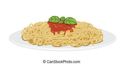 Köstliche Spaghetti.