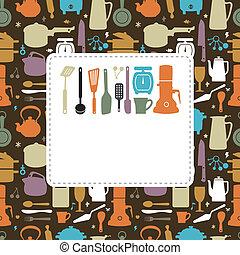 Küchenkarte