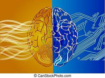 Künstliches Intelligenzkonzept