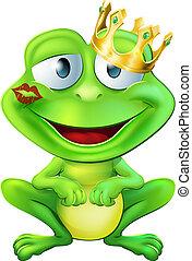 Küss den Froschprinzen