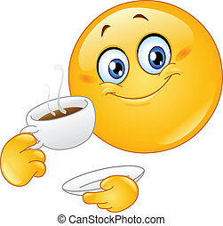 Kaffee-Emoticon