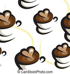 Kaffee nahtlos.