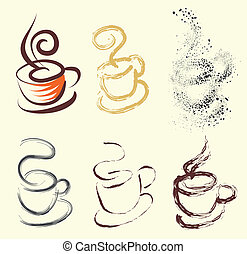Kaffeebecher mit Variationen