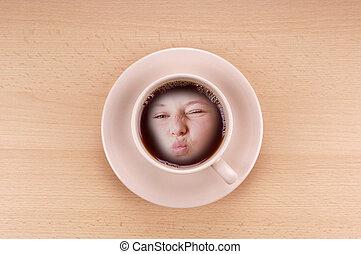 Kaffeekuss.