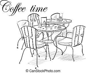 Kaffeezeit.