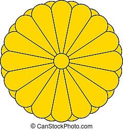 Kaiserliches Siegel Japans.