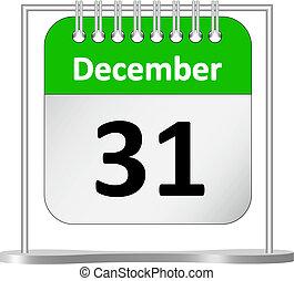 Kalender %u2013 Dezember 31.