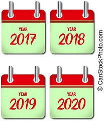 Kalenderjahr Ikonen.