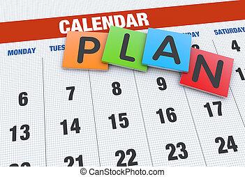 Kalenderplanung