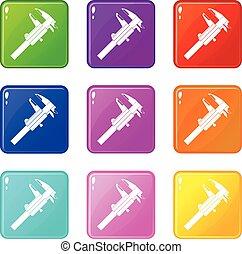 Kaliber Icons 9 Set.