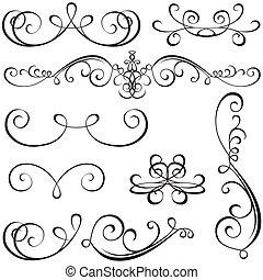 Kalligrafische Elemente