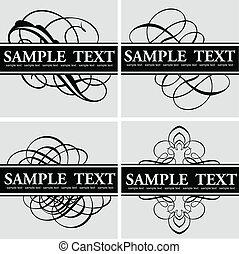 Kalligraphie-Titelbezirk