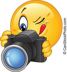 Kamera-Emoticon.