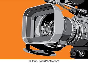 Kamera im Studio