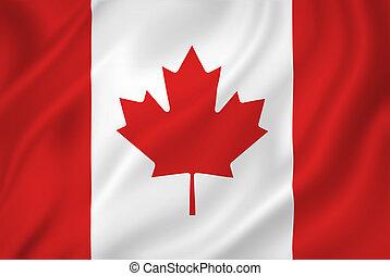 Kanada-Flagge.