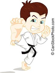 Karate-Boy-Cartoon.