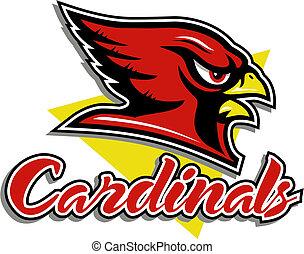 Kardinal Maskottchen