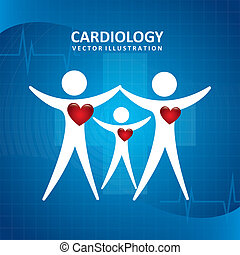 kardiologie, design