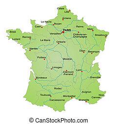 Karte france