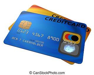 karten, kredit