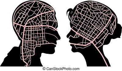 karten, verstand