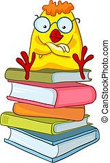 Kartoon Charakter Hühnchen