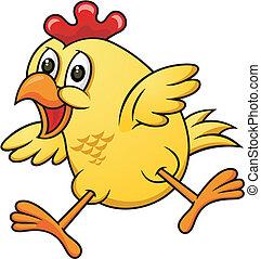 Kartoon Chicken 06.