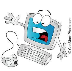 Kartoon-Computer.