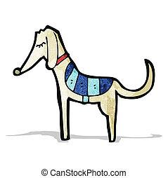 Kartoon Greyhound.