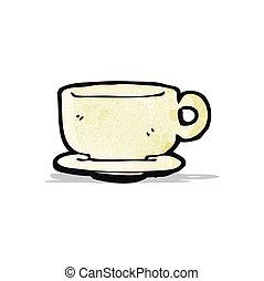 Kartoon-Kaffee.