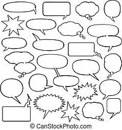 Kartoon Redeblasen.