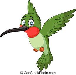 Kartoon süßer kleiner Vogel.