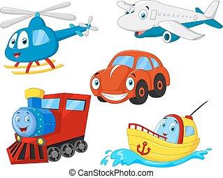 Kartoon-Transport.