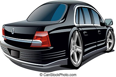 Kartoon-Vektorwagen