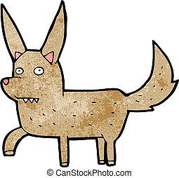 Kartoon Wildhund.