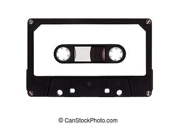 kassette, ledig, band