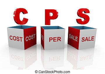 kasten, -, verkauf, pro, kosten, cps, 3d