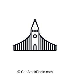 katholik, vektor, christ, design, kirche