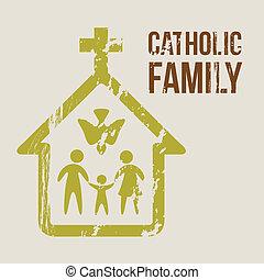Katholische Familie
