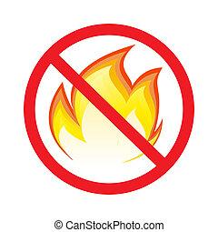 Kein Brandzeichen