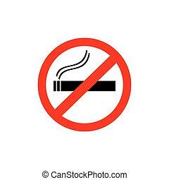 Kein Rauchzeichen.