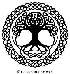 Keltische nationale Ornamente.