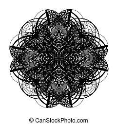keltisches und irisches Knoten Ornamentekreuz.